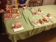 A gingerbread version of the cohousing community.  Which house was made by tween boys?